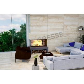 GRESSE Lalibela-blanch GRS04-17 - камин 2
