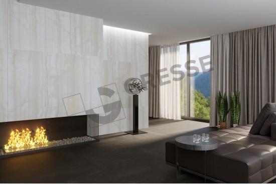 GRESSE Lalibela-blanch GRS04-17 - камин