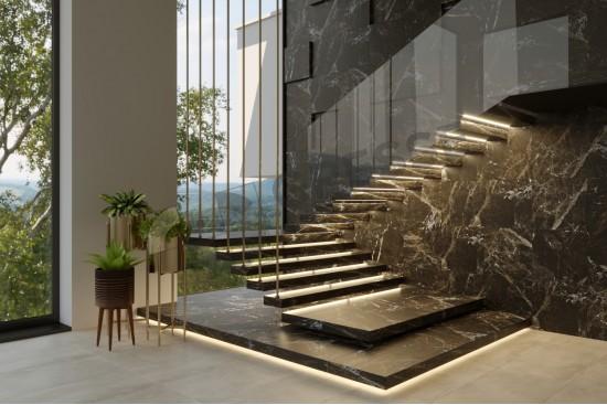 GRESSE Simbel-carbon GRS05-03 - лестница