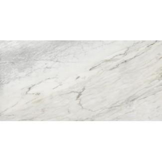 Керамогранит Ellora-ashy 1200х600х10 мрамор бело-серый
