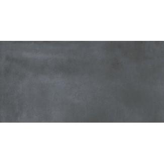 Керамогранит Matera-pitch 1200х600х10 бетон смолистый темно-серый