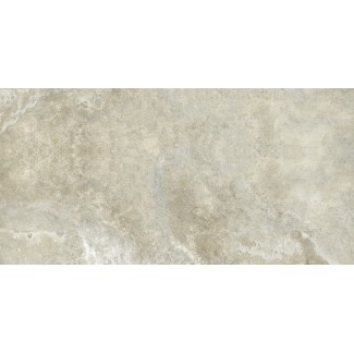Керамогранит Petra-limestone 1200х600х10 ракушечник серо-зеленоватый