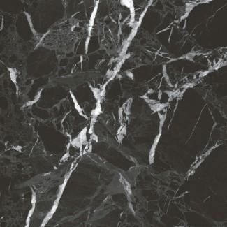 Керамогранит Simbel-pitch 600х600х10 мрамор черно-серый